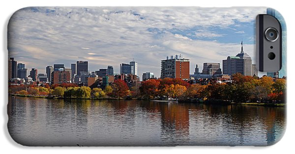 Charles River iPhone Cases - New Perspective iPhone Case by Juergen Roth