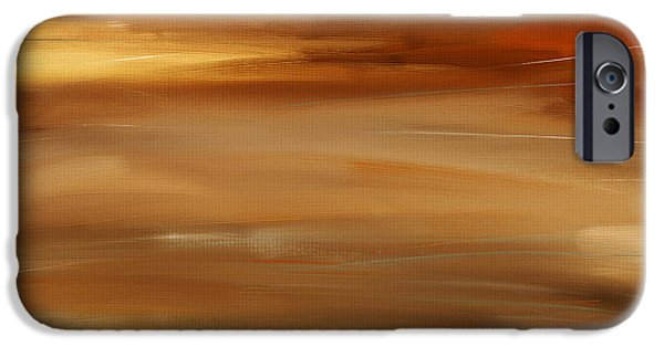 Abstract Seascape iPhone Cases - New Radiance iPhone Case by Lourry Legarde