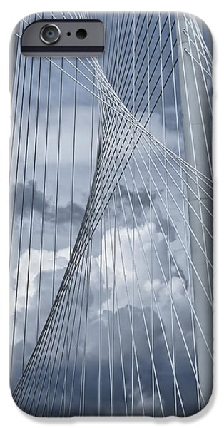 River iPhone Cases - New Skyline Bridge iPhone Case by Joan Carroll