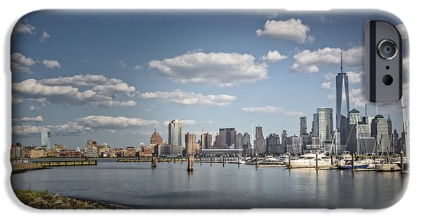 City Scape iPhone Cases - New World Trade Center iPhone Case by Susan Candelario