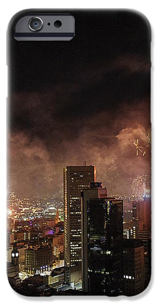 New Year Fireworks iPhone Case by Ray Warren