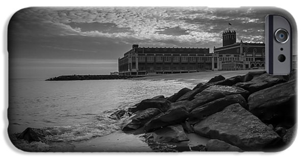 Asbury Park iPhone Cases - New Years Day in Asbury Park iPhone Case by David Rucker