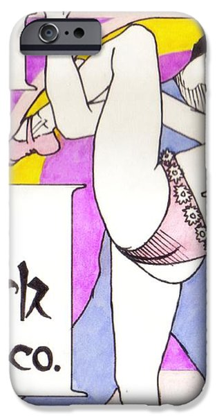 New York Ballet Company iPhone Case by George Pedro
