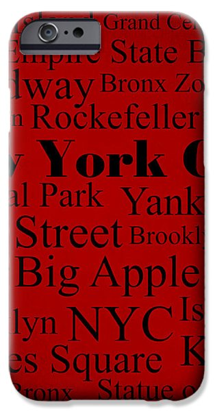 New York City iPhone Case by Denyse and Laura Design Studio