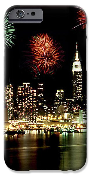 New York City Fourth of July iPhone Case by Anthony Sacco
