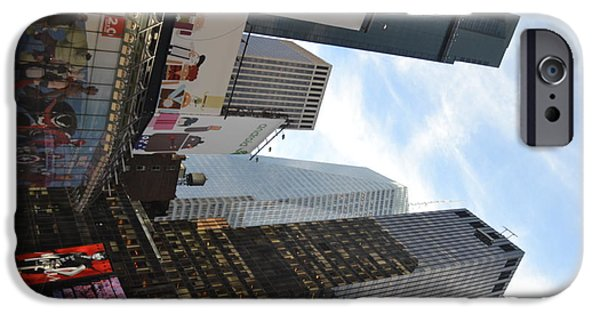 Robert Daniels iPhone Cases - New York City II iPhone Case by Robert Daniels