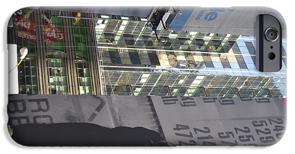 Robert Daniels iPhone Cases - New York City IV iPhone Case by Robert Daniels