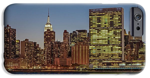 Building iPhone Cases - New York City Landmarks iPhone Case by Susan Candelario