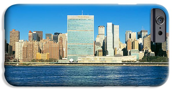 Nation iPhone Cases - New York City Ny iPhone Case by Panoramic Images
