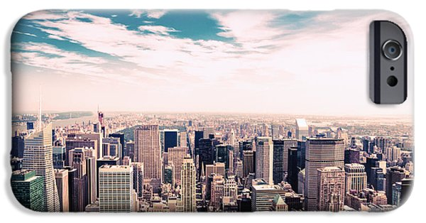Recently Sold -  - Empire State iPhone Cases - New York City - Skyline and Central Park iPhone Case by Vivienne Gucwa