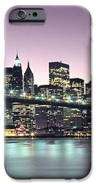 New York City Skyline iPhone Case by Jon Neidert