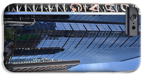 Robert Daniels iPhone Cases - New York City V iPhone Case by Robert Daniels