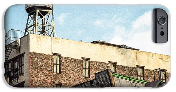 Gary Heller iPhone Cases - New York City Water Tower 2 iPhone Case by Gary Heller