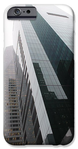New york  iPhone Case by Dean Drobot