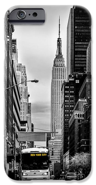 Recently Sold -  - United States iPhone Cases - New York Express iPhone Case by Az Jackson