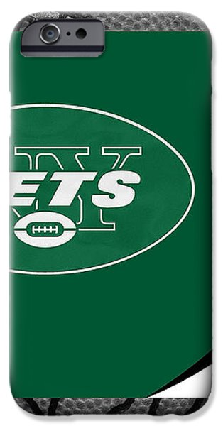 NEW YORK JETS iPhone Case by Joe Hamilton