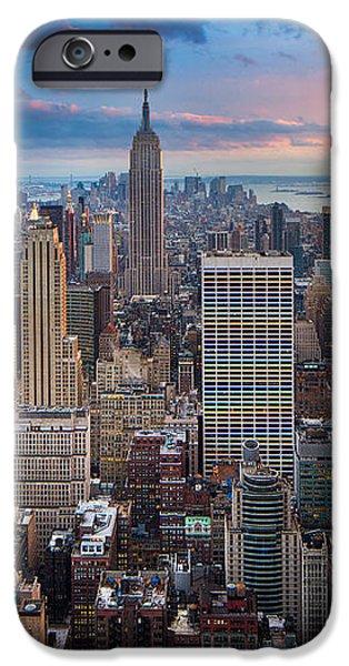 New York New York iPhone Case by Inge Johnsson