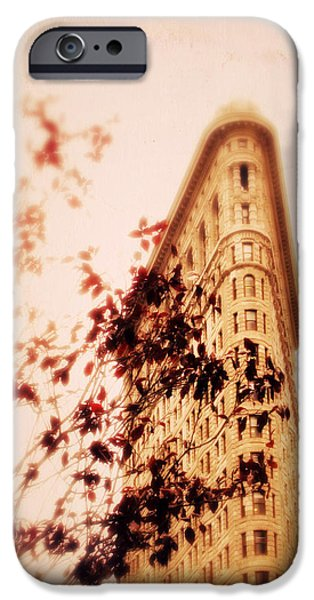 Fade iPhone Cases - New York Nostalgia iPhone Case by Jessica Jenney