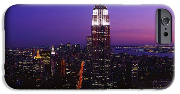 Historic Site iPhone Cases - New York Ny iPhone Case by Panoramic Images