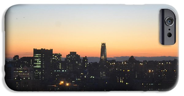 Robert Daniels iPhone Cases - New York Skylight iPhone Case by Robert Daniels