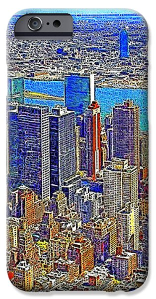 New York Skyline 20130430 iPhone Case by Wingsdomain Art and Photography