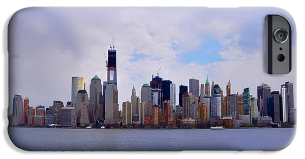 Manhatan iPhone Cases - New York - Standing Tall iPhone Case by Bill Cannon