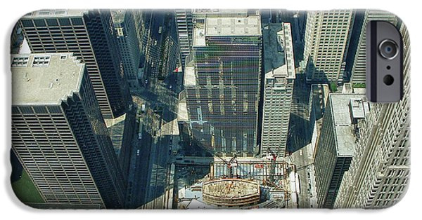 Willis Tower iPhone Cases - Newborn 0220 iPhone Case by Guy Whiteley
