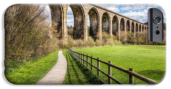 Paths iPhone Cases - Newbridge Viaduct iPhone Case by Adrian Evans