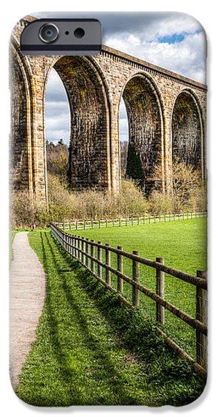 Newbridge Viaduct iPhone Case by Adrian Evans