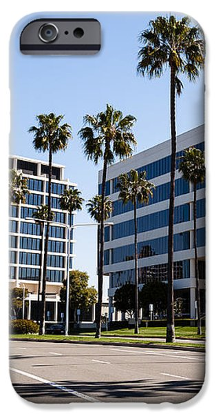 Newport Beach Office Buildings Orange County California iPhone Case by Paul Velgos