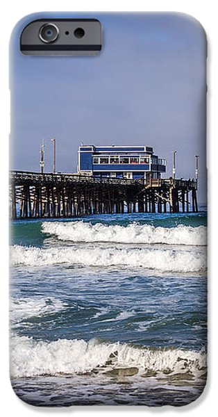 Newport Beach Pier in Orange County California iPhone Case by Paul Velgos