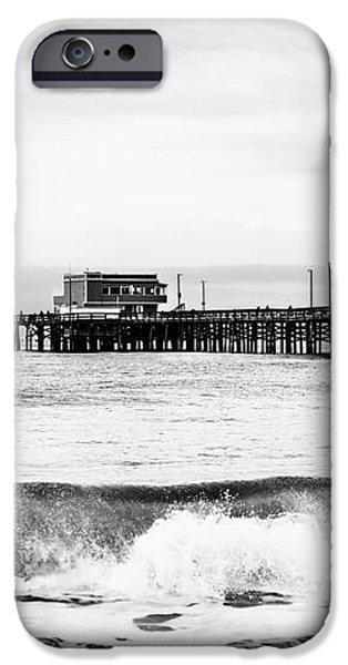 Newport Beach Pier iPhone Case by Paul Velgos