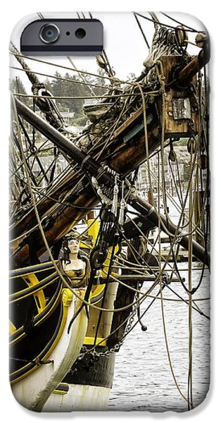 Tall Ship iPhone Cases - Newport Oregon Bay iPhone Case by Image Takers Photography LLC - Laura Morgan