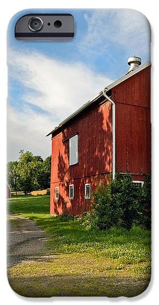 Newtown Barn iPhone Case by Bill  Wakeley