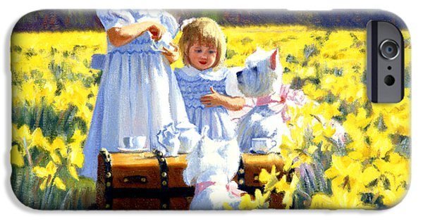Tea Party iPhone Cases - Next iPhone Case by Candace Lovely