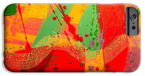 Fine Art Abstract iPhone Cases - Nexus I iPhone Case by John  Nolan