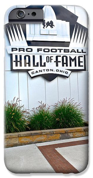 NFL Hall of Fame iPhone Case by Frozen in Time Fine Art Photography
