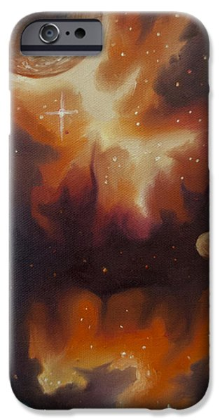 Star System Paintings iPhone Cases - Ngc - 1015 iPhone Case by James Christopher Hill
