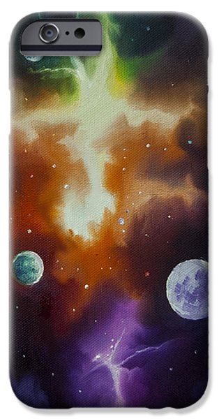 Star System Paintings iPhone Cases - Ngc 1030 iPhone Case by James Christopher Hill