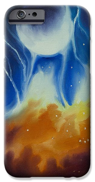 Star System Paintings iPhone Cases - Ngc 1031 iPhone Case by James Christopher Hill