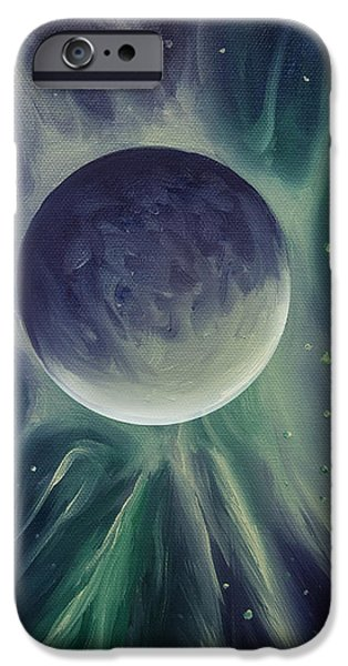 Star System Paintings iPhone Cases - Ngc 1032 iPhone Case by James Christopher Hill