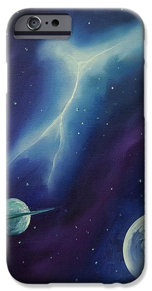Star System Paintings iPhone Cases - Ngc 1035 iPhone Case by James Christopher Hill