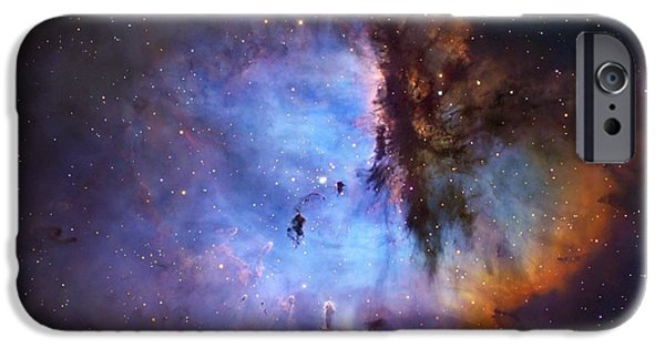 Pacman iPhone Cases - Ngc 281 Starbirth Region, Optical Image iPhone Case by Robert Gendler