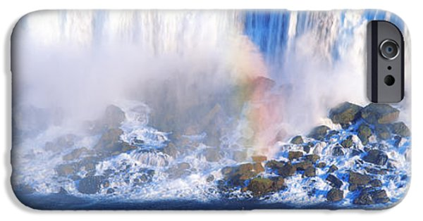 Niagara Falls iPhone Cases - Niagara Falls, Canada iPhone Case by Panoramic Images