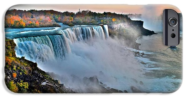 Miracle iPhone Cases - Niagara Falls iPhone Case by Frozen in Time Fine Art Photography