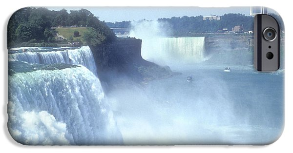 Niagara Falls iPhone Cases - NIAGARA FALLS - New York iPhone Case by Mike McGlothlen