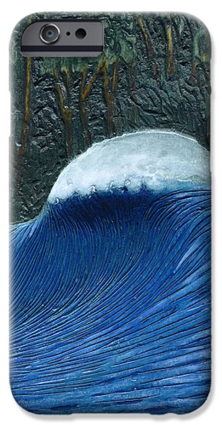 Wood Carving iPhone Cases - Nias Peak iPhone Case by Nathan Ledyard
