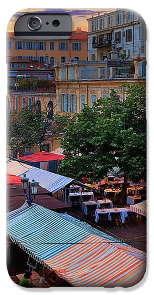 Nice Flower Market iPhone Case by Inge Johnsson