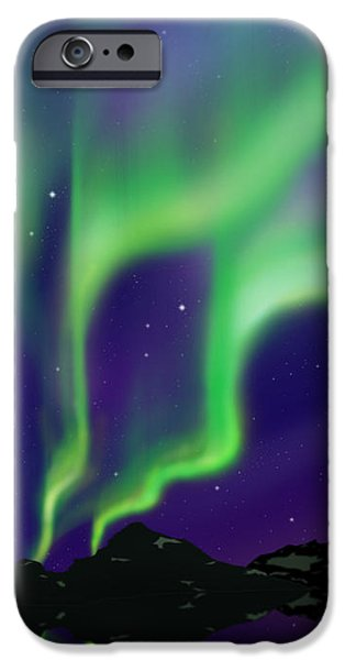 Solar Phenomena iPhone Cases - Nice Sky iPhone Case by Atiketta Sangasaeng