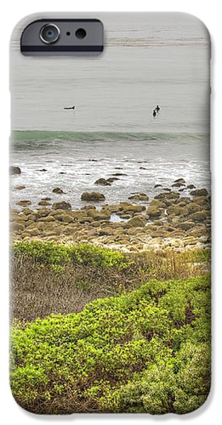 Nicholas Canyon County Beach iPhone Case by Ricky Barnard